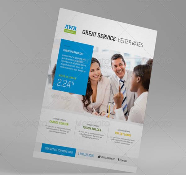 Finance Promotion Flyer