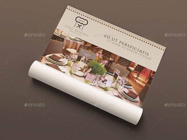 Fine Dining Restaurant Flyer Template