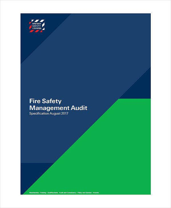 Fire Safety Audit Report Template