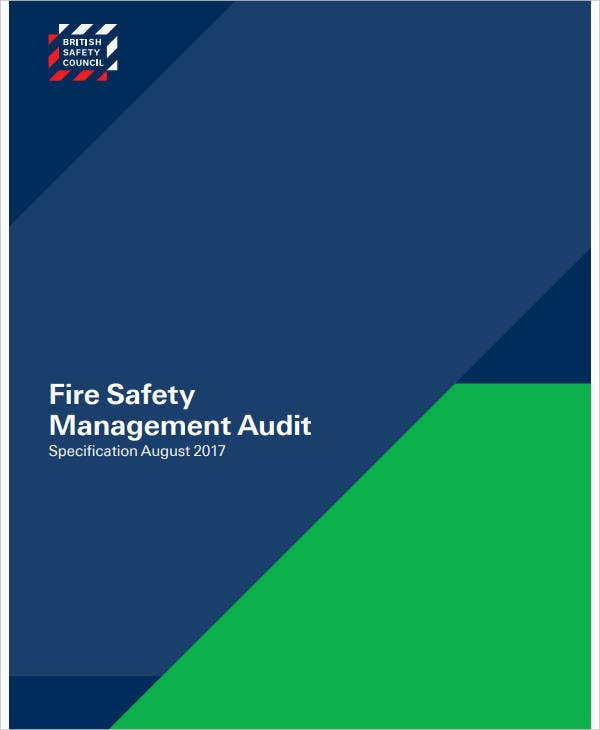 fire safety management audit report