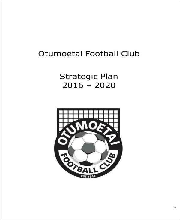 Football Club Strategic Plan