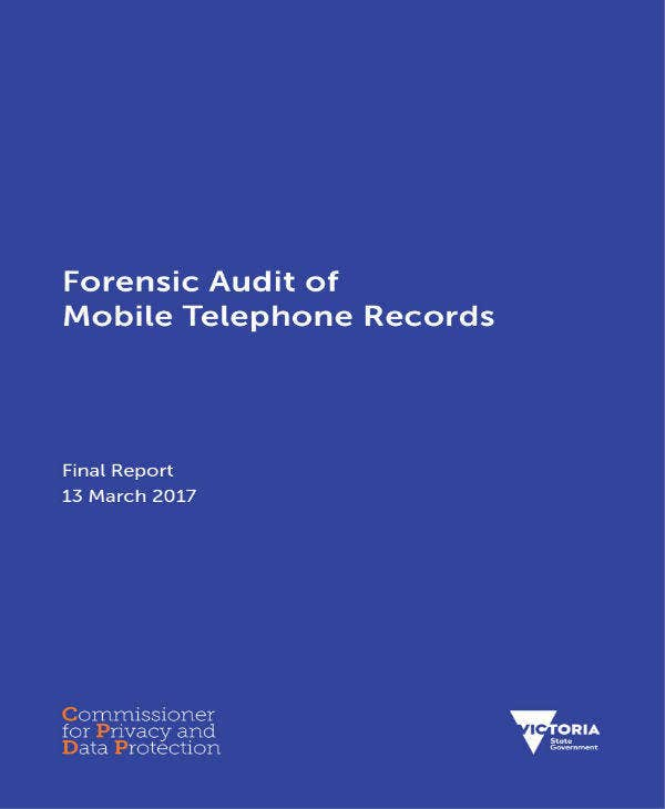 Forensic Audit Report of Mobile Phone