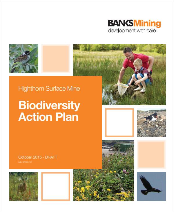 free biodiversity action plan