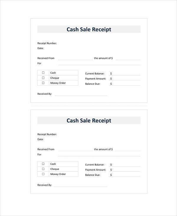 30 money receipt templates doc pdf free premium templates