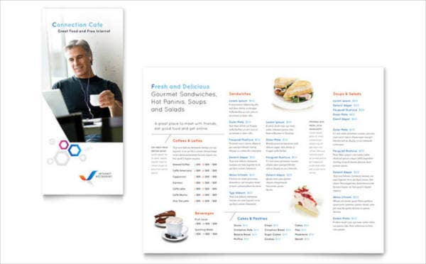 Free Food Menu Design