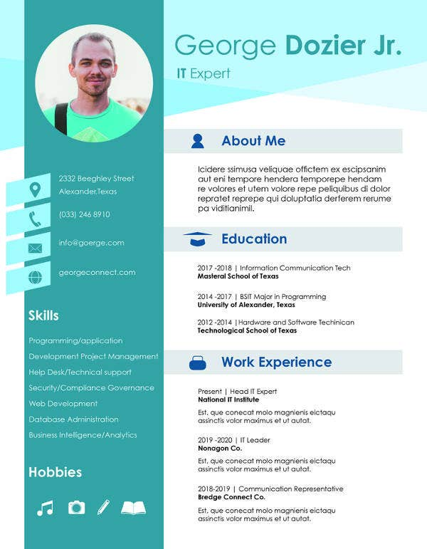 11+ Computer Science Resume Templates - PDF, DOC | Free & Premium ...