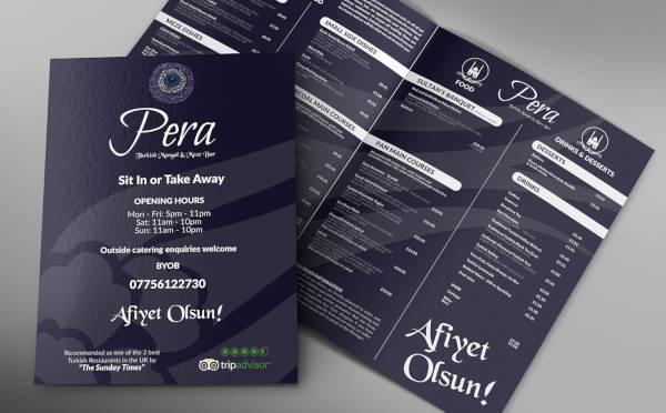 free printable menu
