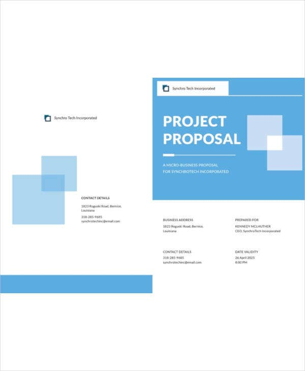11 small business proposal templates samples doc pdf free free small business proposal template friedricerecipe Choice Image