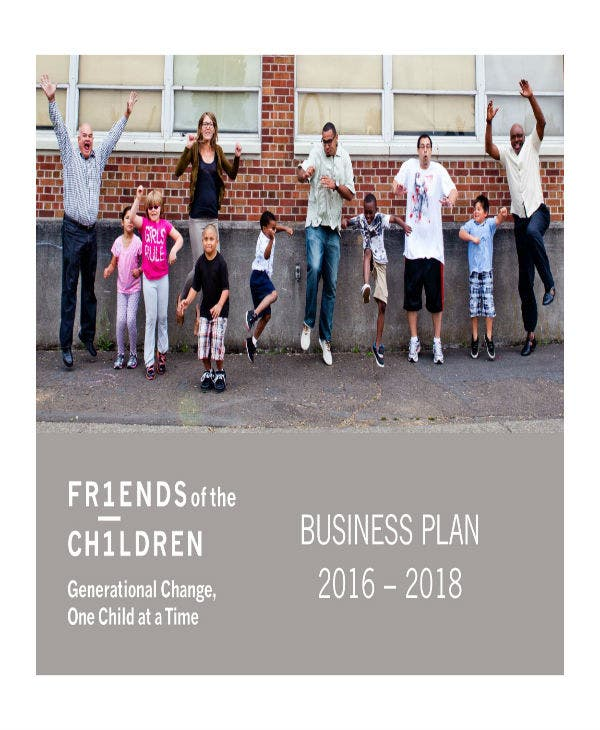 friends of the children business plan 01
