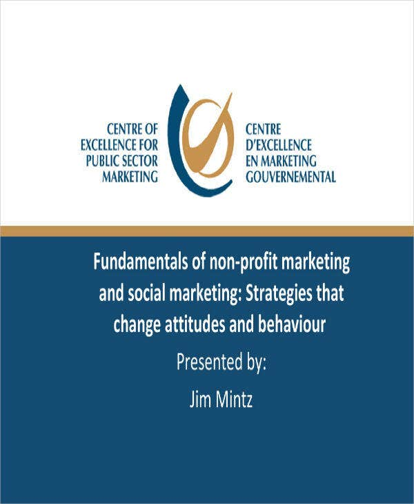 fundamentals of nonprofit marketing plan