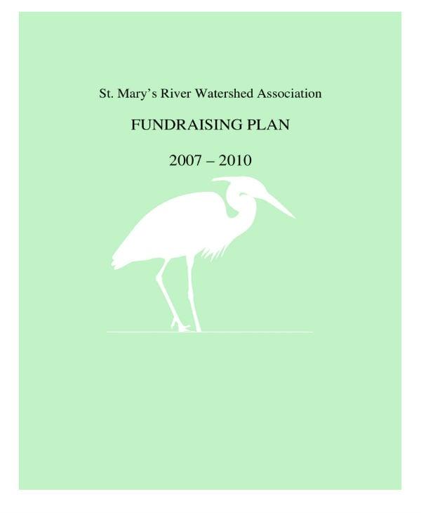 fundraising plan 2007 2010 01