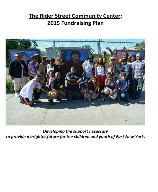 fundraising plan model spring 2014 01