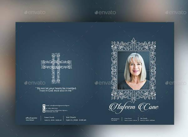 Funeral Service Brochure Design