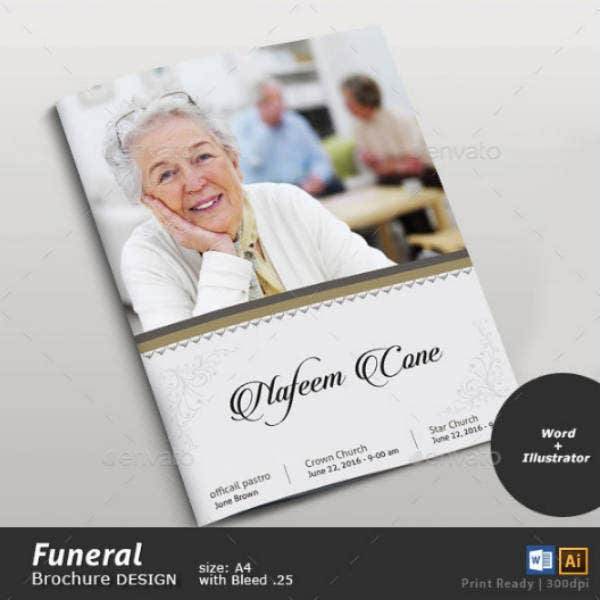 funeral service brochure example1