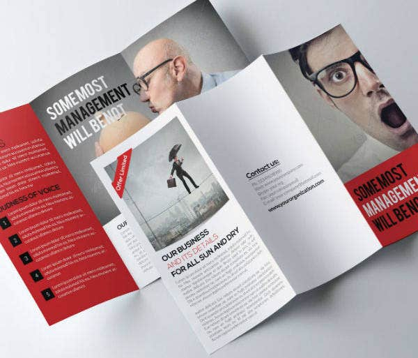 Funny Job Agency Brochure Template
