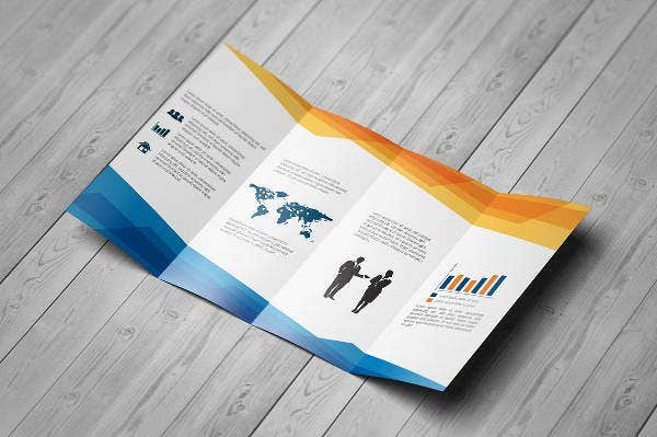 Gate-fold Business Brochure Design