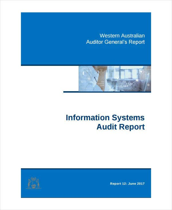 General System Audit Report Template