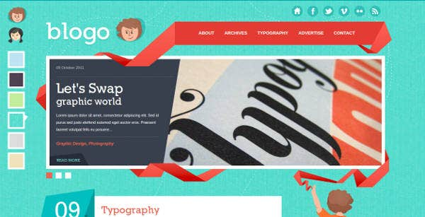 html-template-for-creative-bloggers