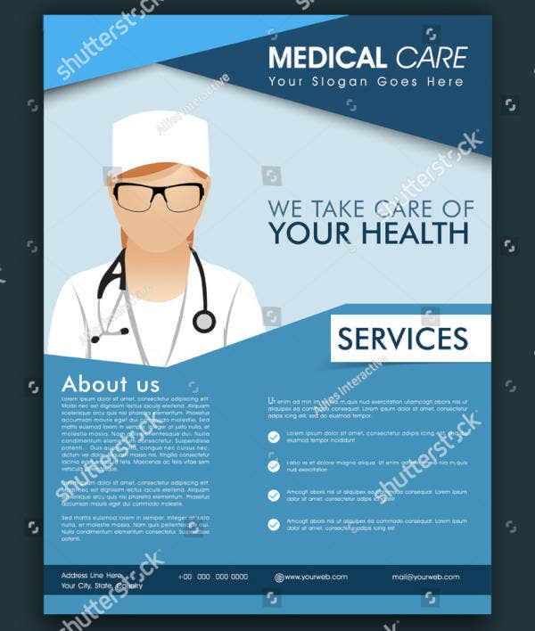 Health Care Treatment Flyer Template