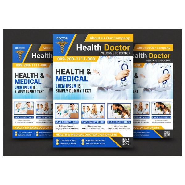 health-medical-doctors-flyer