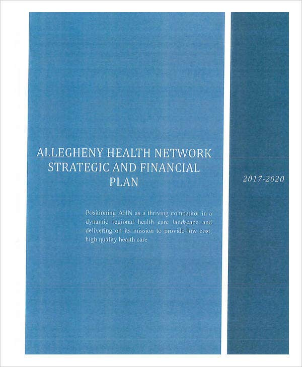 Health Network Strategic Plan
