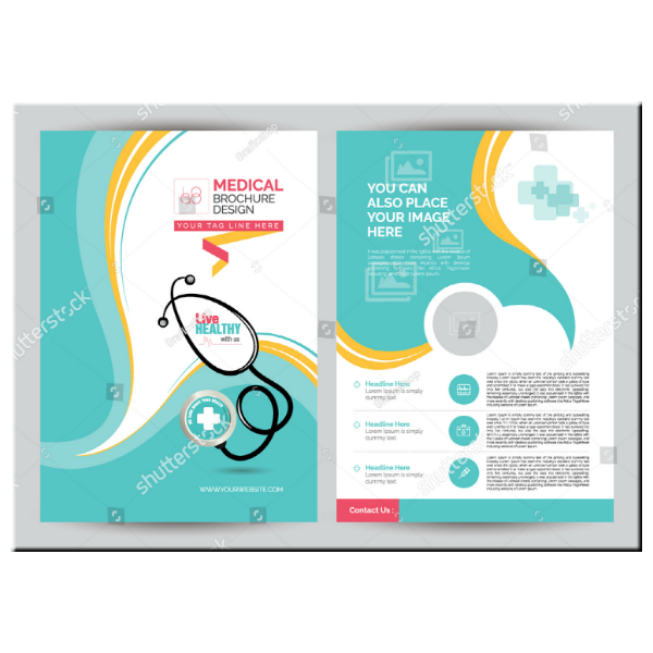 Healthy Living Medical Brochure Template