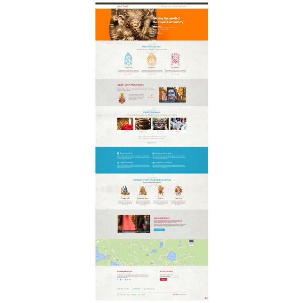 Hinduism Responsive WordPress Theme