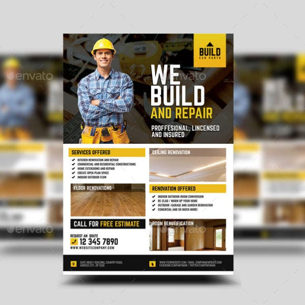 home-construction-service-contractor-flyer-template