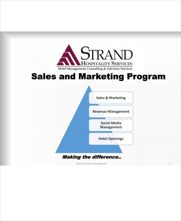 hotel sales marketing program1