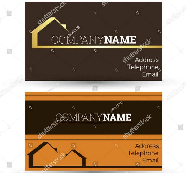 House Real Estate Business Card