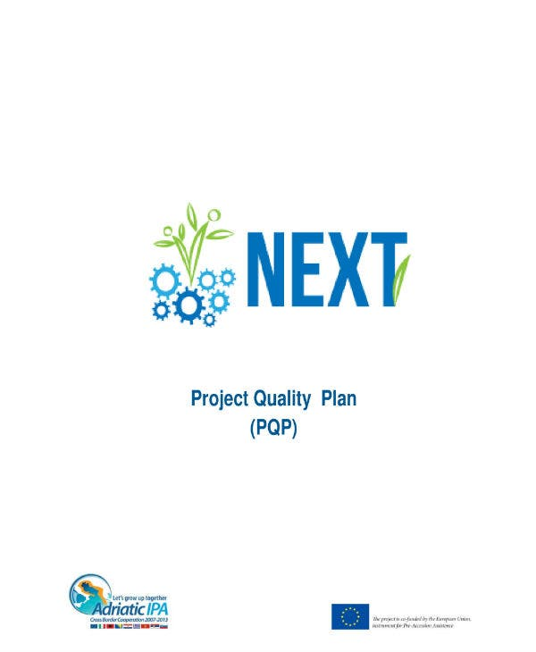 it project quality plan