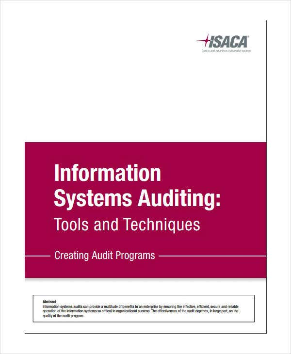 Information Systems Audit Report Template