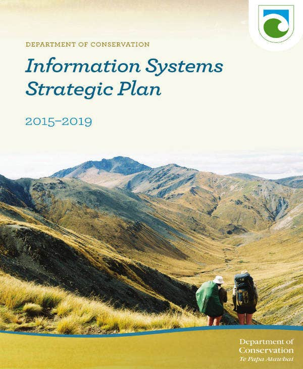 Information Two Page Strategic Plan