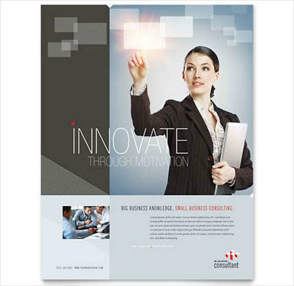 Innovative Corporate Strategy Flyer Template