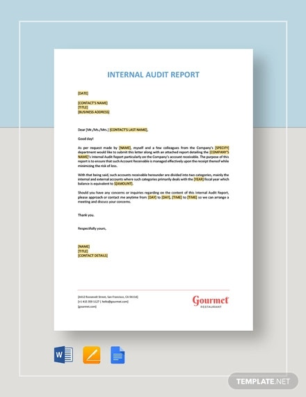 internal audit report1