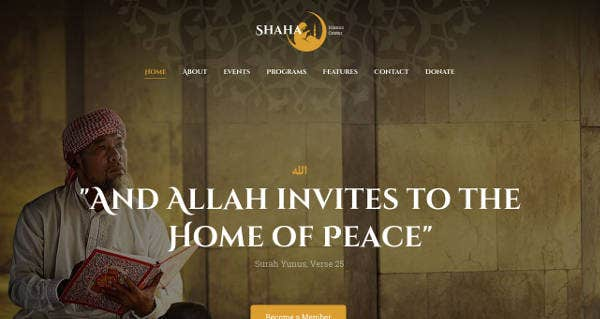 Islamic Centre WordPress Theme