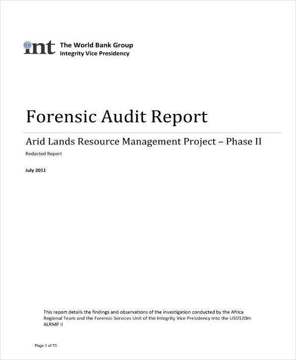 kenya arid lands forensic audit report