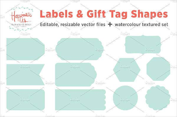 Labels & Gift Tag Templates