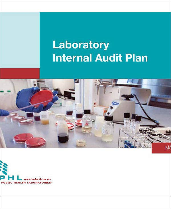 laboratory internal audit plan template