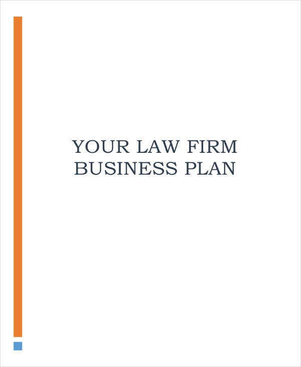 law firm business marketing plan