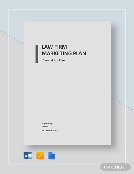 Law Firm Marketing Plan