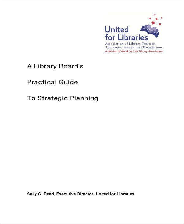 Library Board Strategic Planning