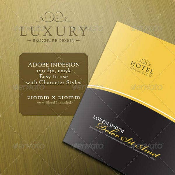 Luxury Cruise Brochure Template