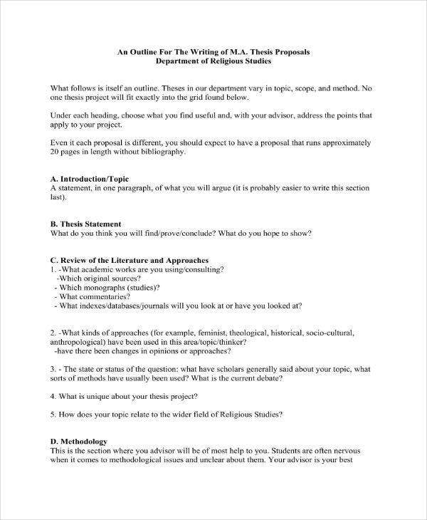 Anthropology dissertation proposal