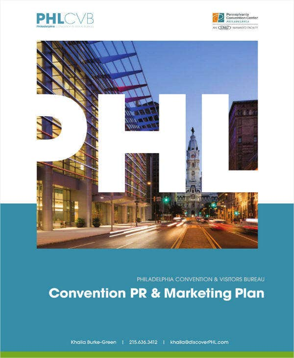 Manual Marketing Event Plan Sample