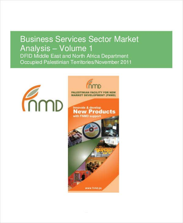 market analysis for business services