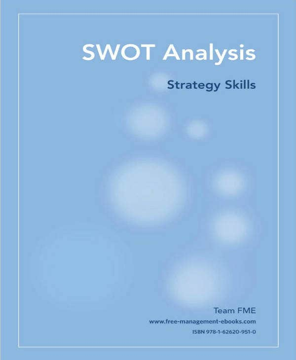Marketing SWOT Analysis Example