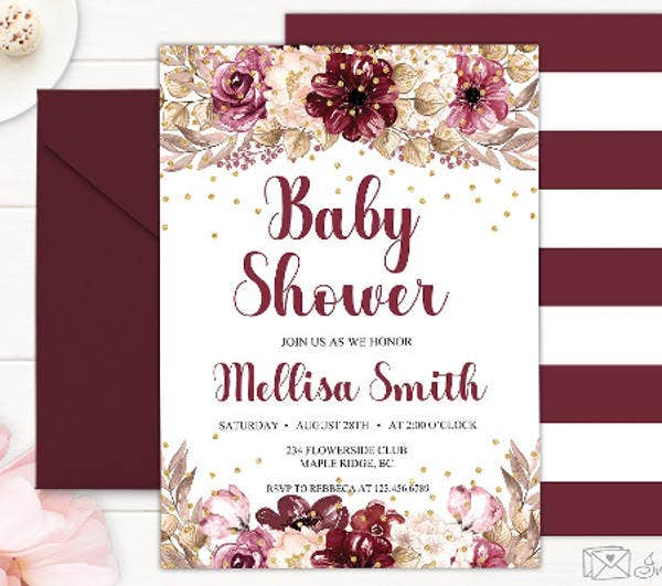 marsala-baby-shower-invitation