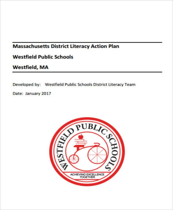 massachusetts district literacy action plan
