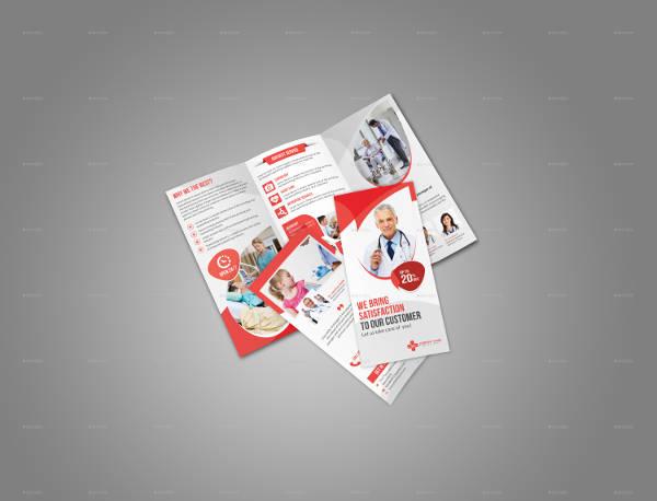 Medical Booklet Brochure Template